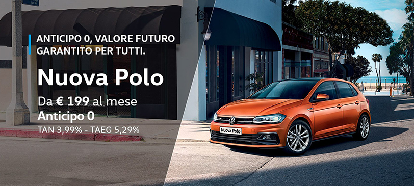 Nuova Polo 1.6 TDI Trendline con Tech Pack